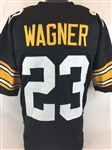 Mike Wagner Pittsburgh Steelers Custom Home Jersey Mens XL