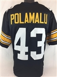 Troy Polamalu Pittsburgh Steelers Custom Home Jersey Mens XL