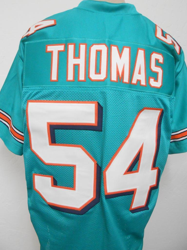 Nice Item Detail Zach Thomas Miami Dolphins Custom Home Jersey Mens  for cheap