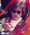 Arie Luyendyk Signed Indycar Racing 8x9 Photo Autographed JSA COA #S39306