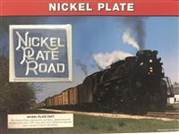 Nickel Plate Willabee & Ward Great American Railroads Emblem Patch Card
