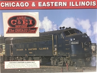 Chicago & Eastern IL Willabee & Ward Great American Railroads Emblem Patch Card