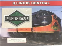 Illinois Central Willabee & Ward Great American Railroads Emblem Patch Card