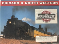 Chicago & Northwestern Willabee & Ward Great American Railroads Emblem Patch Card