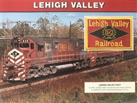 Lehigh Valley Willabee & Ward Great American Railroads Emblem Patch Card