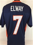 John Elway Denver Broncos Custom Alternate Jersey Mens XL