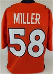 Von Miller Denver Broncos Custom Home Jersey Mens Large