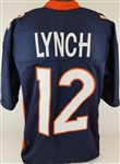 Paxton Lynch Denver Broncos Custom Home Jersey Mens Large