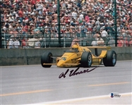 Al Unser Signed Formula One 8x10 Photo Authentic Autograph Beckett BAS #B90463