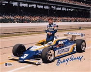 Bobby Unser Signed Formula One 8x10 Photo Auto Autographed Beckett BAS #B90461