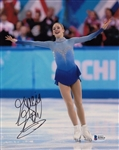 Gracie Gold Signed Usa Olympic Figure Skating 8x10 Photo Beckett BAS #B19414