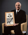 Lou Lamoriello Signed Maple Leafs 8x10 Photo Authentic Autograph PSA/DNA #Z35609