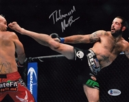"Matt Brown ""The Immortal"" Signed UFC 8x10 Photo Autograph Beckett BAS #B90474"