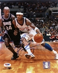 Quentin Richardson Signed Clippers 8x10 Photo Authentic Autograph PSA #T48887