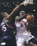 Rodney Stuckey Signed Pistons 8x10 Photo Authentic Autograph JSA Hologram 2