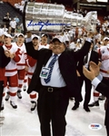 Scotty Bowman Signed Red Wings 8x10 Photo Authentic Autograph PSA/DNA #X71231