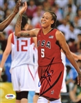 Seimone Augustus Signed Usa Basketball 8x10 Photo Autographed PSA/DNA #AB93018