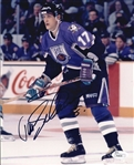 Teemu Selanne Signed Ducks All Star Game 8x10 Photo Autographed JSA #P68838