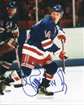 Theo Fleury Signed Rangers 8x10 Photo Authentic Autograph PSA/DNA #V68350