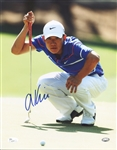Anthony Kim Signed PGA Golf 11x14 Photo Authentic Autograph JSA #J67916