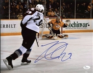 Nathan MacKinnon Signed Avalanche 11x14 Photo Authentic Autograph JSA #L79617