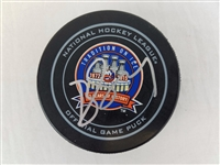 Brock Nelson Signed Official NHL Islanders Tradition Game Puck PSA/DNA #Y73740