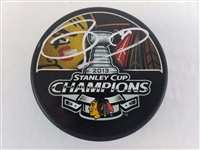 Dave Bolland Signed Blackhawks 2013 Stanley Cup Champions Puck PSA #AA92528
