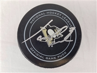 Ian Cole Signed Official NHL Pittsburgh Penguins Game Puck Beckett BAS #B96585