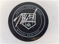 Mike Richards Signed Official NHL Los Angeles Kings Game Puck PSA/DNA #W85157