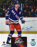 Ron Greschner New York Rangers Signed 8x10 Photo Leaf COA