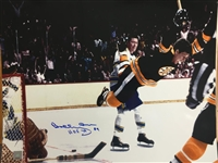 "Bobby Orr Signed ""HOF 79"" Boston Bruins 16x20 Photo Great North Road COA"