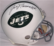 Joe Namath New York Jets Signed Full Size Proline Authentic Helmet Steiner COA