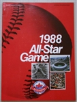 1988 Major League Baseball All Star Game Official Authentic Program