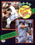 Nolan Ryan Signed 1993 Grapefruit League Program Magazine PSA/DNA #Z70855