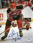 Peter Stastny Devils Signed 1991 Beckett Magazine Page Photo PSA/DNA #W79138