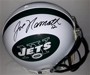 Joe Namath Signed Full Size Authentic Proline New York Jets Helmet Steiner & UDA