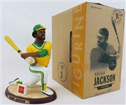 Reggie Jackson Oakland Athletics 2004 As SGA Limited Edition Figurine w/ Box