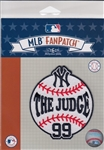 Aaron Judge New York Yankees The Judge 99 MLB Licensed Collector Fan Patch