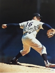 """Ed"" Whitey Ford New York Yankees Signed ""HOF 74 Cy 67 Ch of the board"" 11x14 Photo PSA COA"
