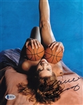 Jeanie Buss Signed 8x10 Lakers Photo Authentic Autograph Beckett BAS #B95745