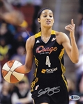 Skylar Diggins Signed Dallas Wings 8x10 Photo Autographed Beckett BAS #B65037