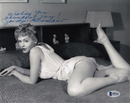Judy Bamber Signed Sexy 8x10 Photo Authentic Autograph Beckett BAS #B95650