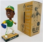 Vida Blue Oakland Athletics 2004 As SGA Limited Edition Bobblehead w/ Box