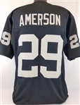 David Amerson Oakland Raiders Custom Home Jersey Mens XL