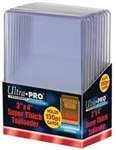 10 Ultra Pro 130pt 3x4 Thick Toploaders