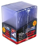 25 Ultra Pro 100pt 3x4 Thick Toploaders