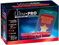 200 Ultra Pro Semi Rigid Graded Card Submission Card Holders