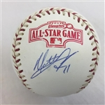 Matt Lawton Minnestoa Twins Signed 2004 All-Star Baseball JSA COA