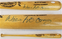 Willie McCovey Signed Lville Slugger Player Model Baseball Bat JSA COA #S39420