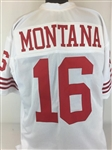 Joe Montana San Francisco 49ers Custom Away Jersey Mens XL
